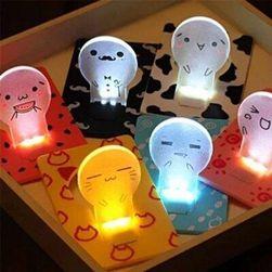 LED žárovka o velikosti platební karty