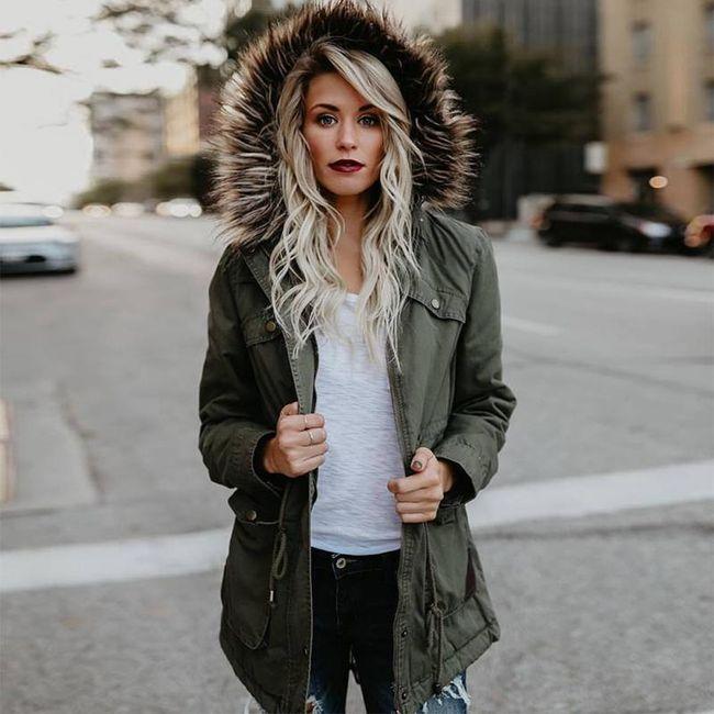 Dámská zimní bunda Madoline s kožíškem - 2 varianty 1