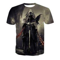 Pánské triko s krátkým rukávem Azrail velikost 9