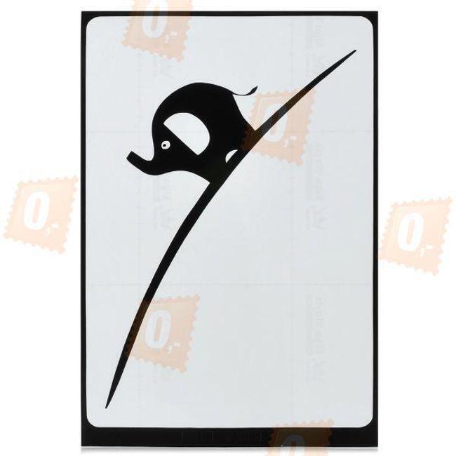 Samolepka na notebook či tablet - slon 1