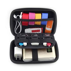 Дорожная сумка для кабелей - 3 цвета