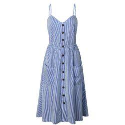 Letní šaty s různými vzory - 008-velikost č. 2