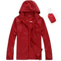 Unisex vízálló és tárolható kabát az esőbe - 15 szín