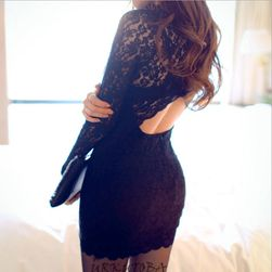 Ženska haljina sa dugačkim rukavima Ambra