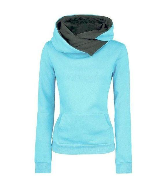 Ženski topli pulover 1