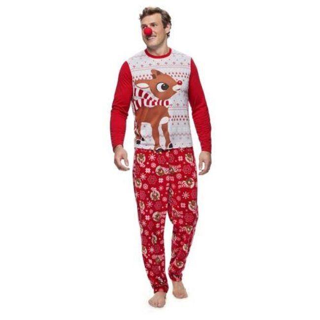 Családi karácsonyi pizsama