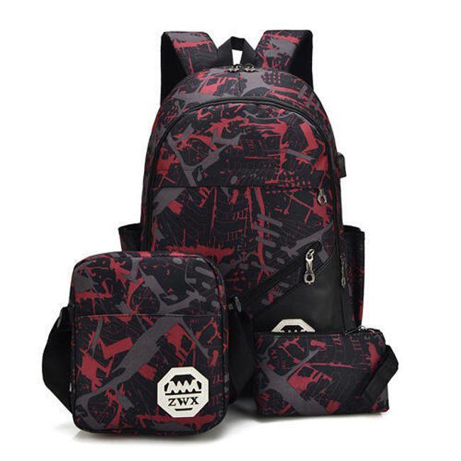 Iskolai készlet hátizsákkal Pedro