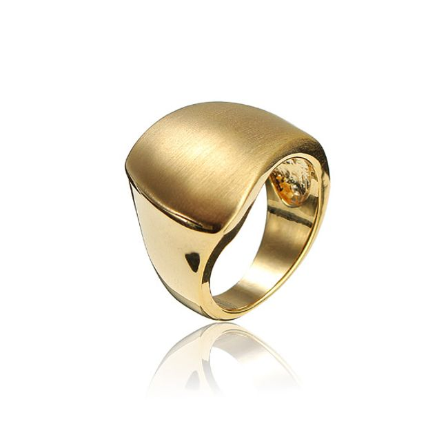 Szabálytalan női gyűrű két színben 1
