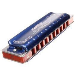 Bluesová harmonika pro začátečníky a mírně pokročilé - modrá