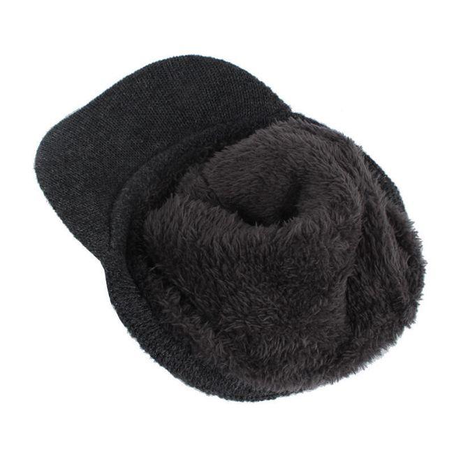 Téli sapka férfiaknak - változatok kendővel vagy anélkül