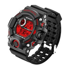 Męski cyfrowy zegarek - 5 kolorów