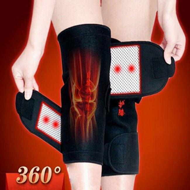 Загрейващ колан за коляно 1