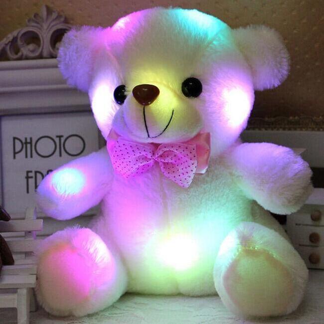 Svítící plyšový medvídek pro děti - 5 barev 1