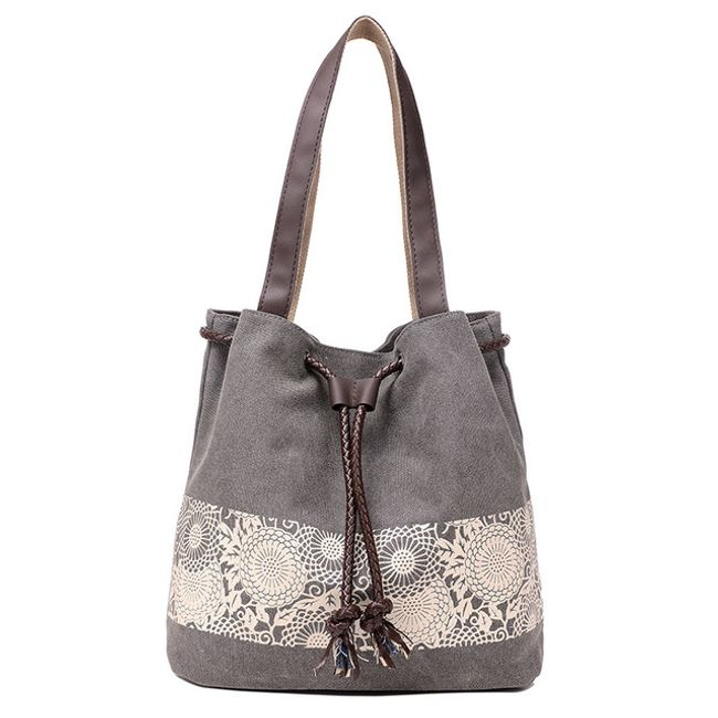 Женская сумочка с цветочным декором - 5 цветов 1