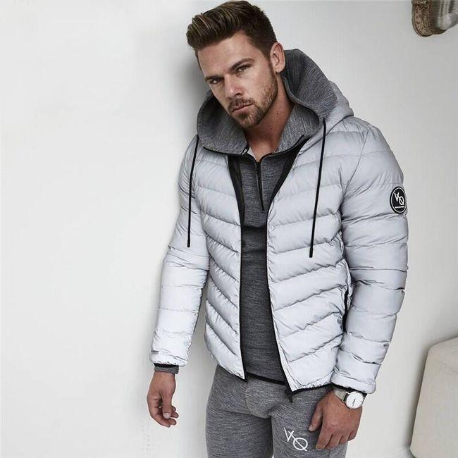 Muška zimska jakna Darren - 2 boja 1