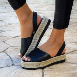 Ženske sandale na platformu Wellia
