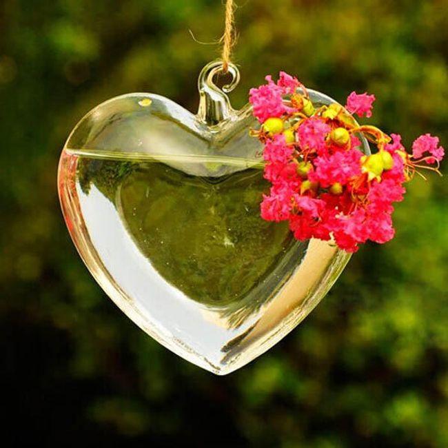 Lógó váza szív alakjában 1