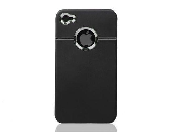 Ochranné pouzdro na iPhone 4 a 4S - chromovaný dekor 1