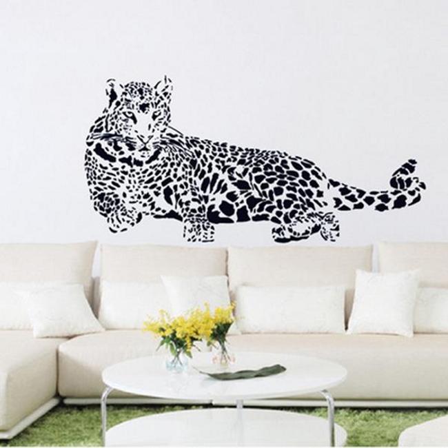 Autocolant pentru perete - leopard 1