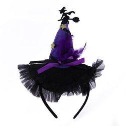Ободок для девочки- Шапка колдуньи