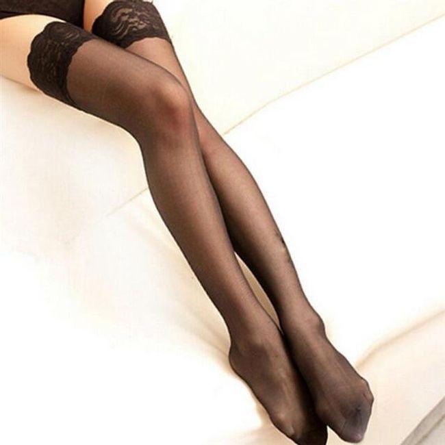 Samostojeće najlon čarape Clarissa 1
