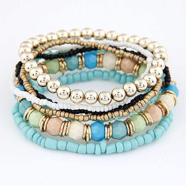 Set narukvica od perli - 6 boja 1