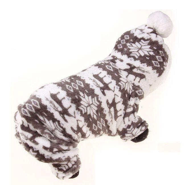 Зимний костюм для собаки 1