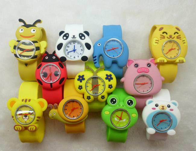 Silikonové slap hodinky se zvířátky, na výběr z 10 zvířátek 1
