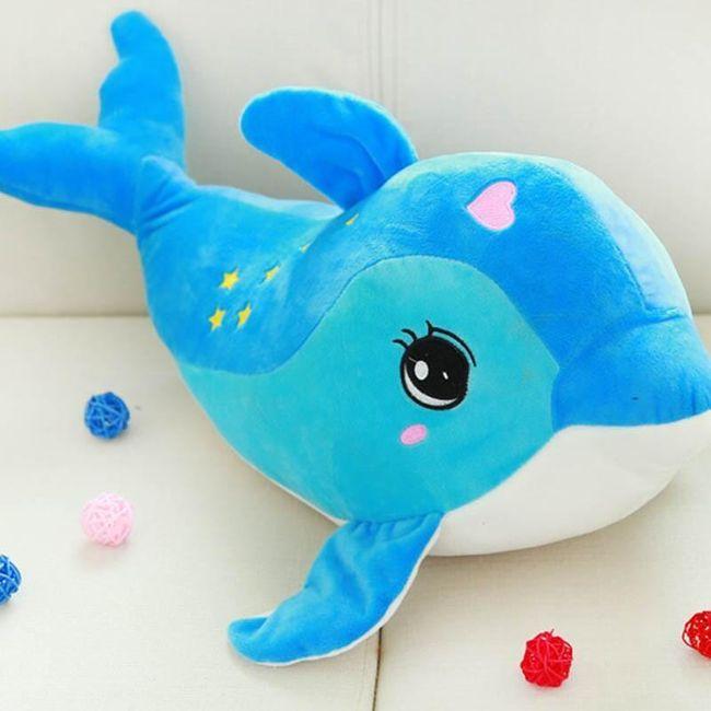 Plyšový delfín - 2 barvy 1