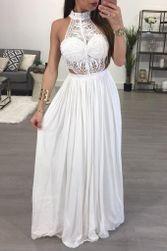 Haljina za bal sa čipkastim vrhom - 2 boje