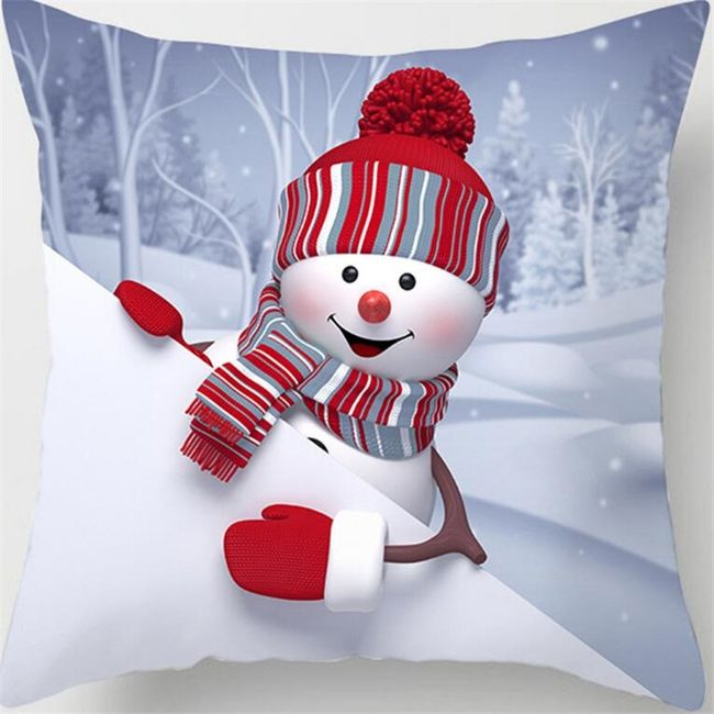 Novogodišnja navlaka za jastuk OD21 1