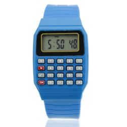 Dětské hodinky s kalkulačkou Analise