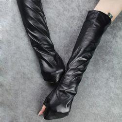 Женские перчатки из кожзама RG70