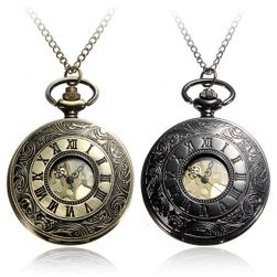 Pánské kapesní hodinky s římskými číslicemi
