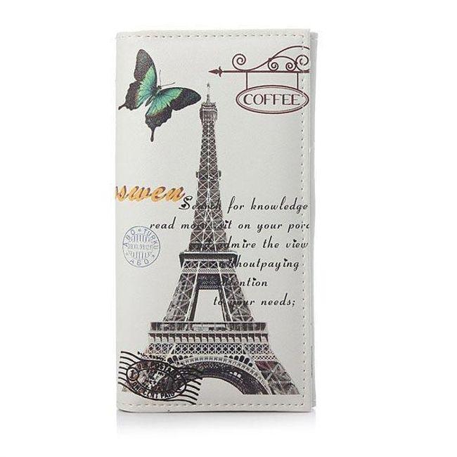 Большой ретро кошелек - Париж 1