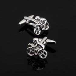 Manžetové knoflíčky - cyklisté