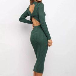 Uzun kollu bayan elbise TF1543