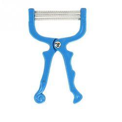 Instrument pentru inlaturarea parului de pe fata