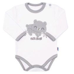 Pamučni bodi sa dugim rukavima RW_body-cute-bear-NBkoa110