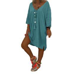 Dámské šaty s dlouhým rukávem Lalia