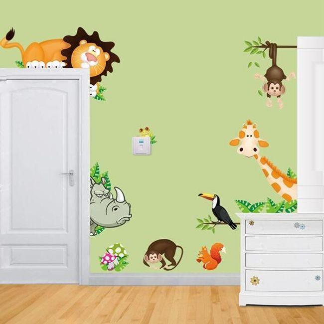 Nalepka - divje živali 1