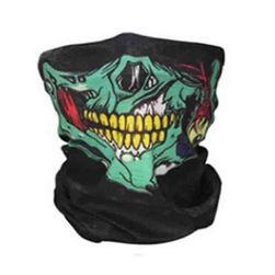 Maska z lobanjo za vožnjo na motociklu - 7 barv Barvita