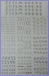 Stickere pentru unghii - 11 modele