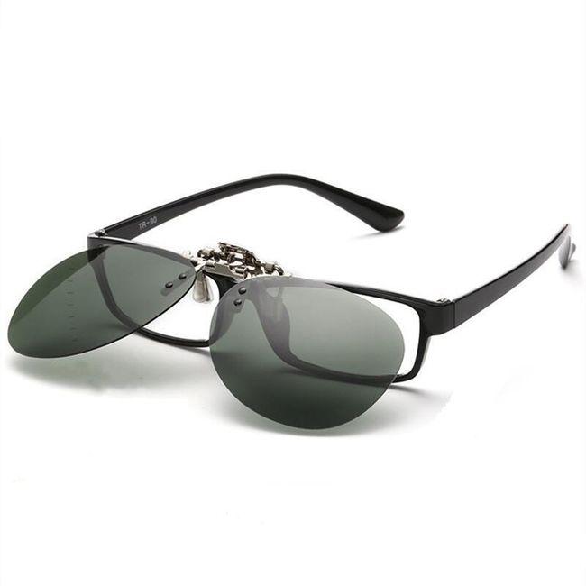 Polarizacioni klip za dioptrijske naočare - Pilot - 7 varijanti 1