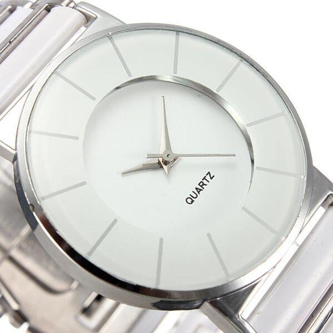 Elegantní hodinky z nerezové oceli - 4 provedení 1
