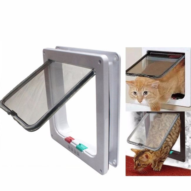 Проходная дверка для кошек и собак 1