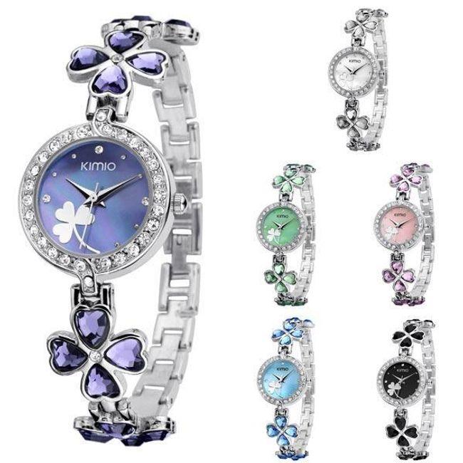Damski zegarek z czterolistną kończyną 1