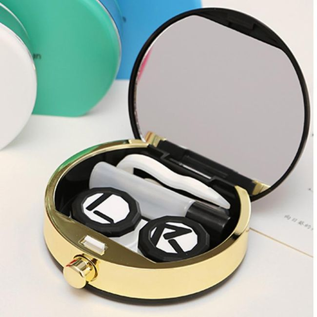 Pouzdro na kontaktní čočky a příslušenství - různé barvy 1