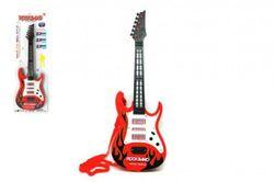 Gitara plast 54cm na batérie so zvukom so svetlom na karte RM_00312004