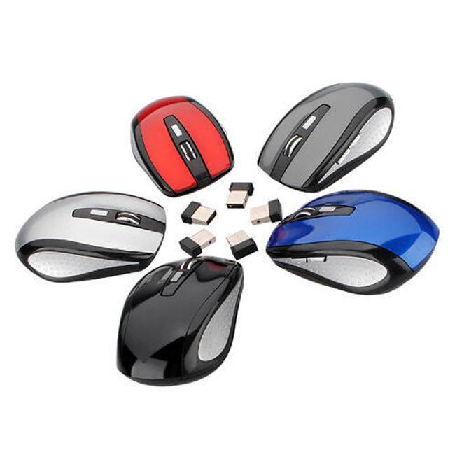 Bezdrátová optická myš - na výběr z 5 barev 1